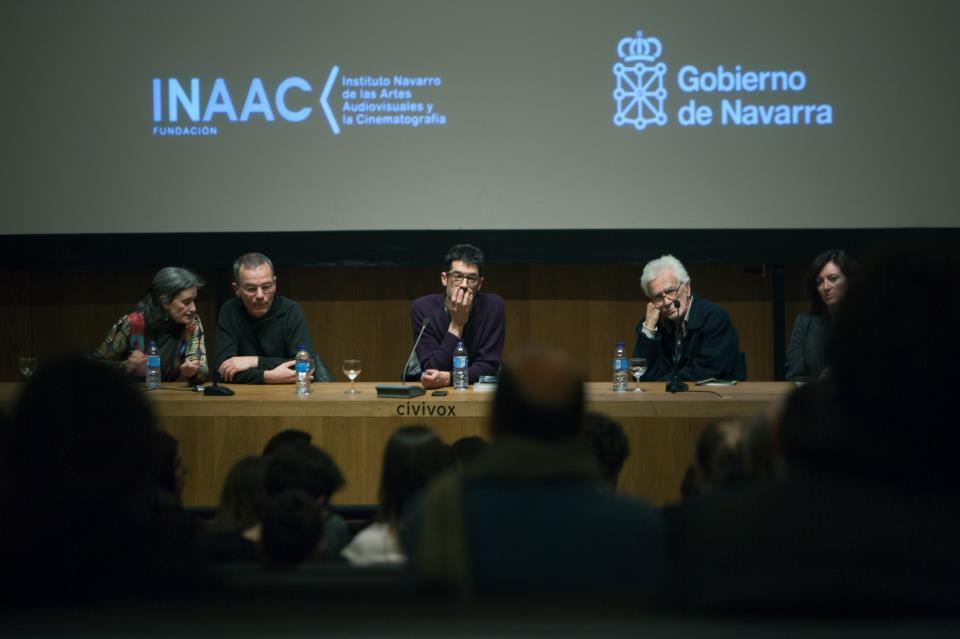 Thomas Heise y Eduardo Coutinho durante la presentación de sus retrospectivas