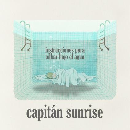 """Portada del Disco """"Intrucciones para silbar bajo el agua"""" Ilustración Gorka Olmo"""