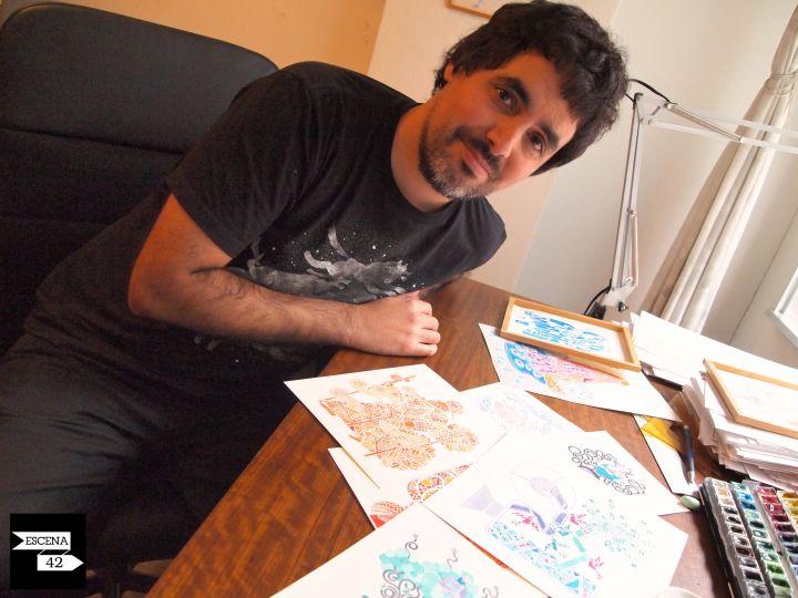 Carlos Arrojo, Ilustrador