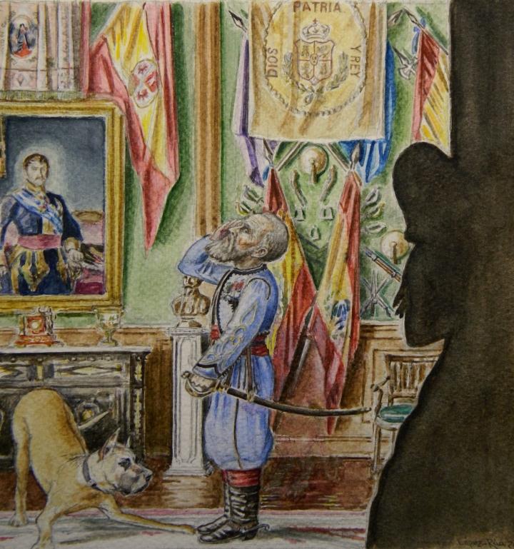 El M de B en la casa de Carlos VII - copia