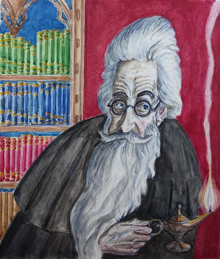 Víctor López-Rúa. Retrato de Valle-Inclán