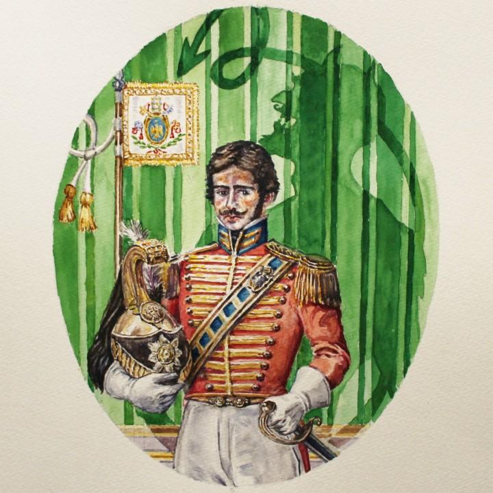 Víctor López-Rúa. Retrato del Marques de Bradomín.