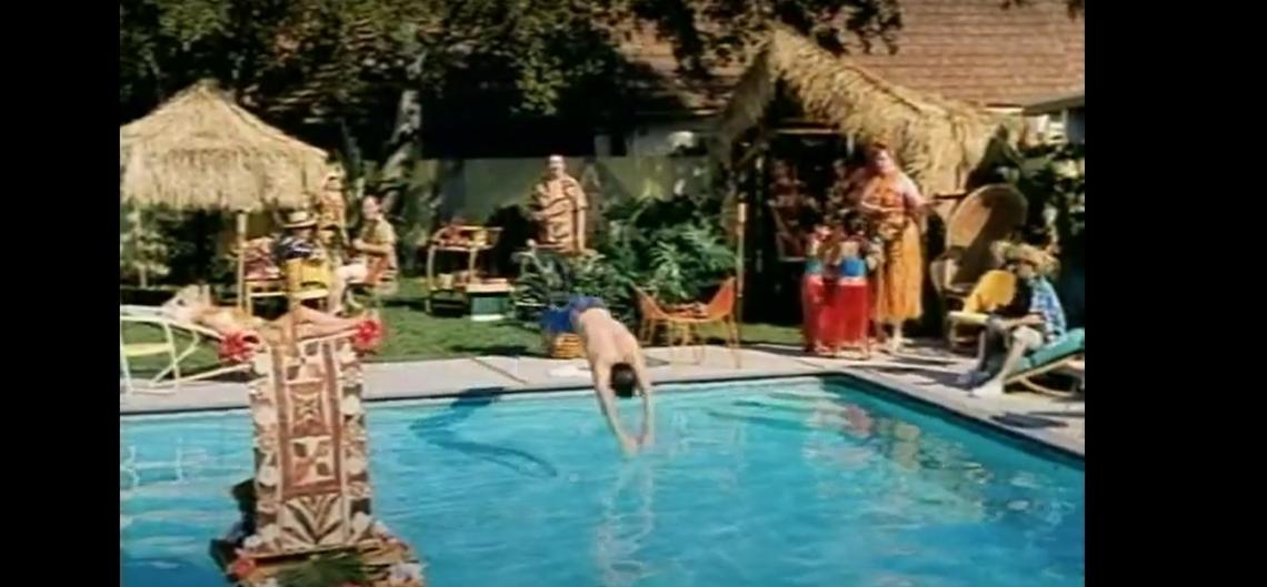 Fotograma del anuncio de Levi´s Swimmer (1992)